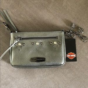 Harley Davidson Silver Pearlized Hipbag with Strap